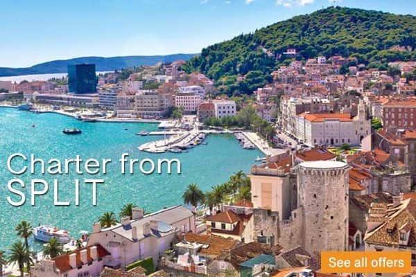 Split area Catamaran Charter Croatia