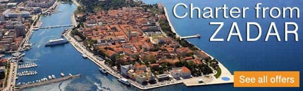 Catamaran charter Croatia Zadar